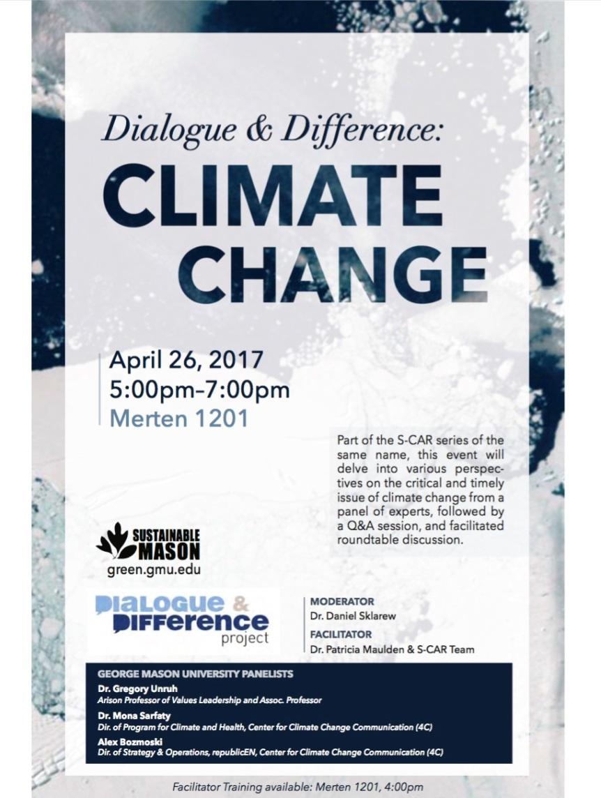 Past Event: Climate Change