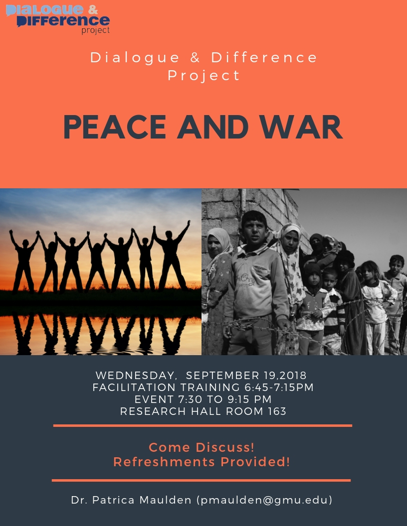 Past Event: Peace & War