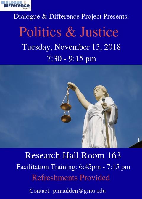 Politics and Justice