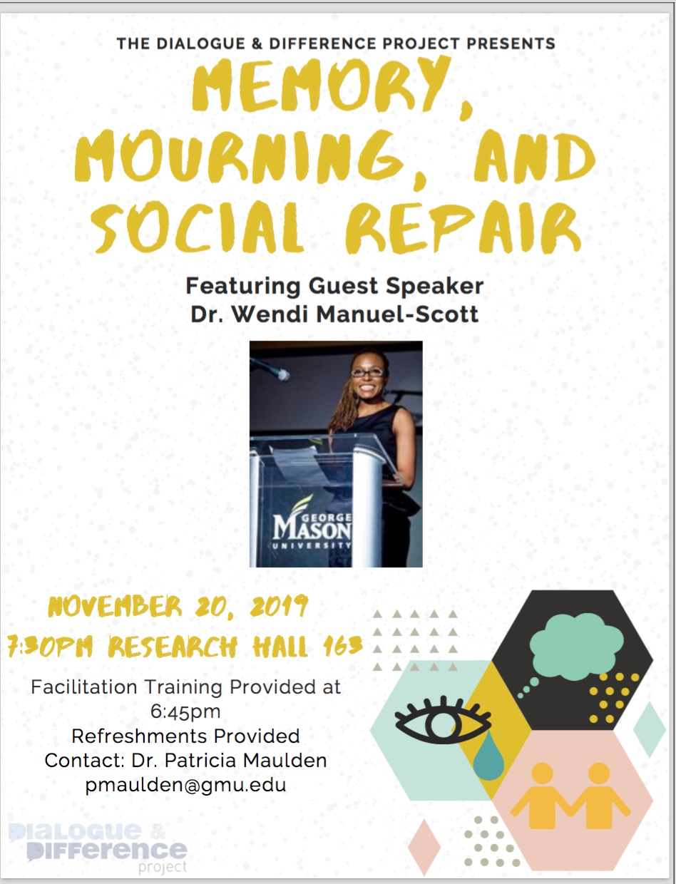 Memory, Mourning, & Social Repair Dialogue